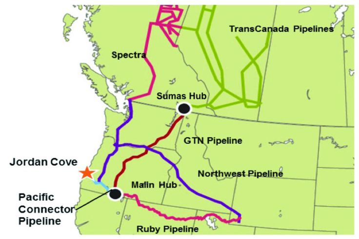 The Klamath Tribes has gone on the record opposing the Jordan Cove energy project and the Pacific Connector liquid gas pipeline, a portion of which is to run through Klamath