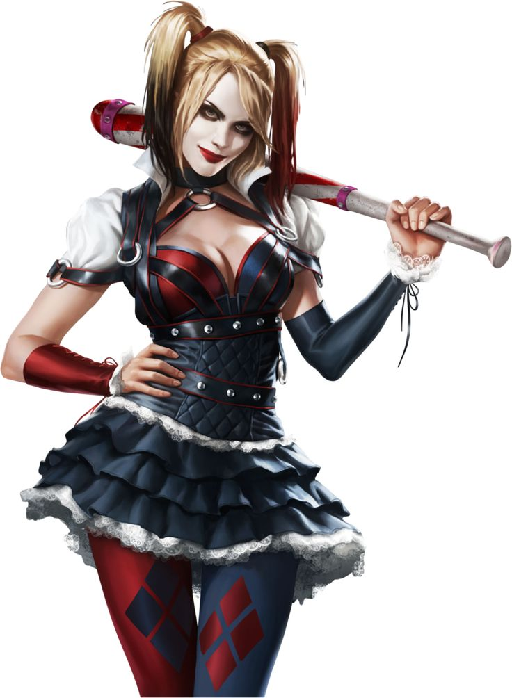 Visual da Harley Quinn de Batman: Arkham Knigh
