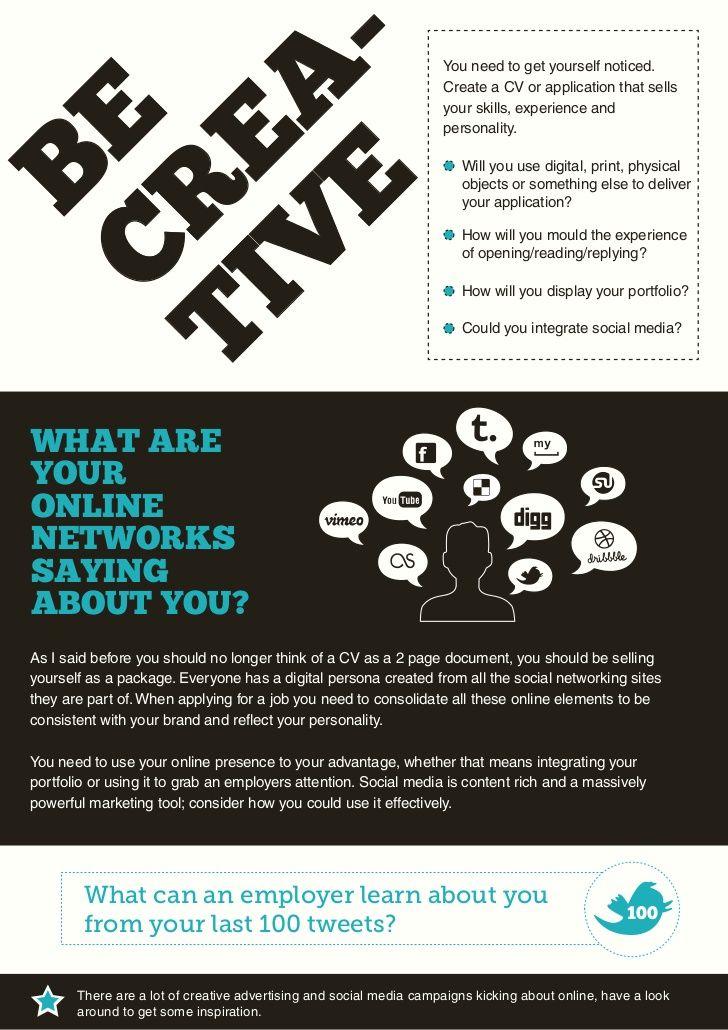 The Creative CV Guide