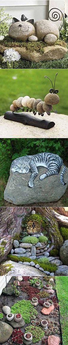 Камни как украшение дачи - 6 соток