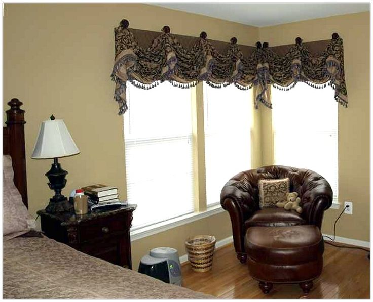The 23 Best Images About Corner Window Treatments On