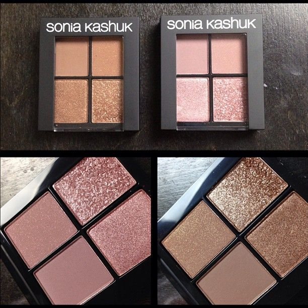 Sonia Kashuk Textured Rose and Textured Cocoa,  Love these colors!