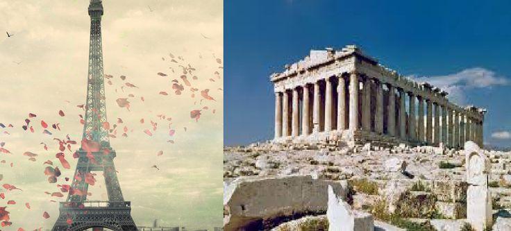 Lo que París para Europa lo fue Grecia para Roma, era el centro del estilo y el arte.
