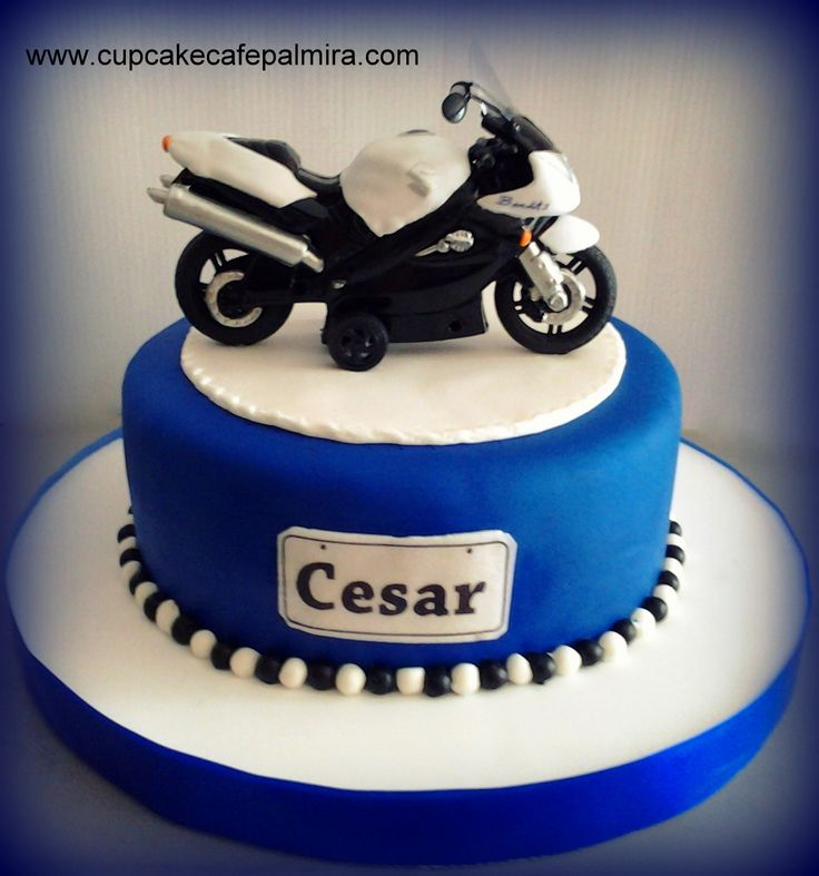 Motorcycle Cake Pastel De Cumplea 241 Os Hombre Pastel De