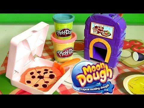 Moon Dough Burgers Fries Play Doh Hamburgers McDonalds Hamburguesa de Plastilina by Disneycollector - YouTube