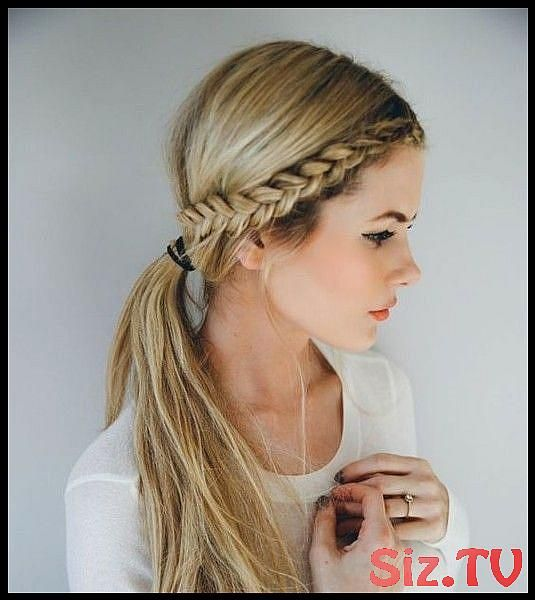 Front Row Braid Front Row Braid Image Via Pinterest Watch The Tutorial Here We Found The 21 Best Lazy Girl Hairstyles On Pinterest So You Don T Have T...