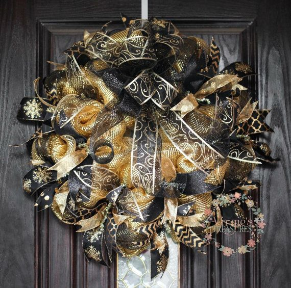 88 best images about Wreaths - New Years Wreath and Door ...