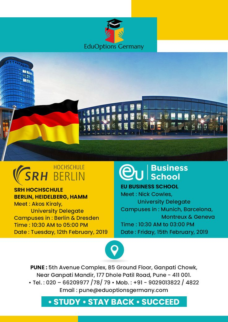 Meet Delegates from Top Ranked German Universities in
