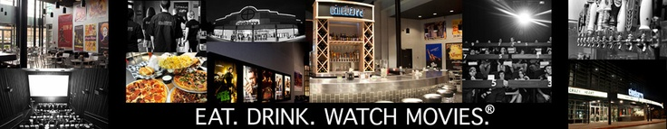 Cinebarre - Mountlake Terrace, WA.      A fun adults only movie theater offering beer and wine and pub style grub while you enjoy the show.