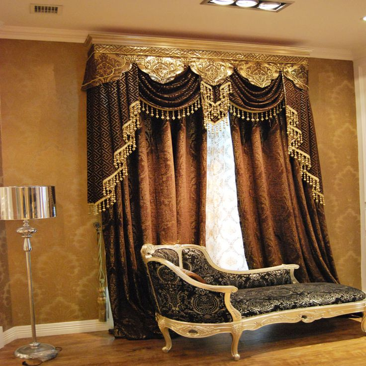 213 best Swags images on Pinterest Window treatments, Curtains - swag curtains for living room