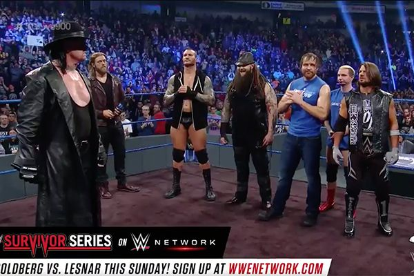 The Undertaker Returns To Smackdown: 'Team Raw Better Rest In Peace' — Watch