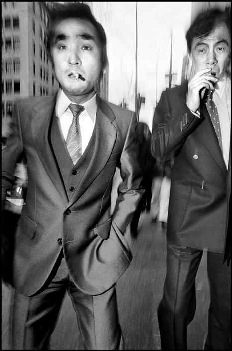 Bruce Gilden USA. New York city. 1984.