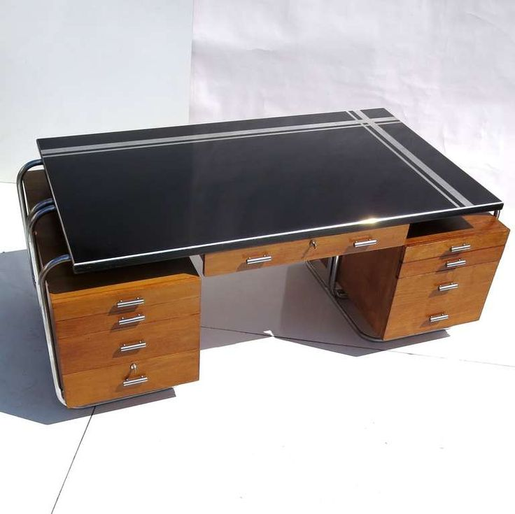 Art Deco Desk from New York City Woolworth's image 3