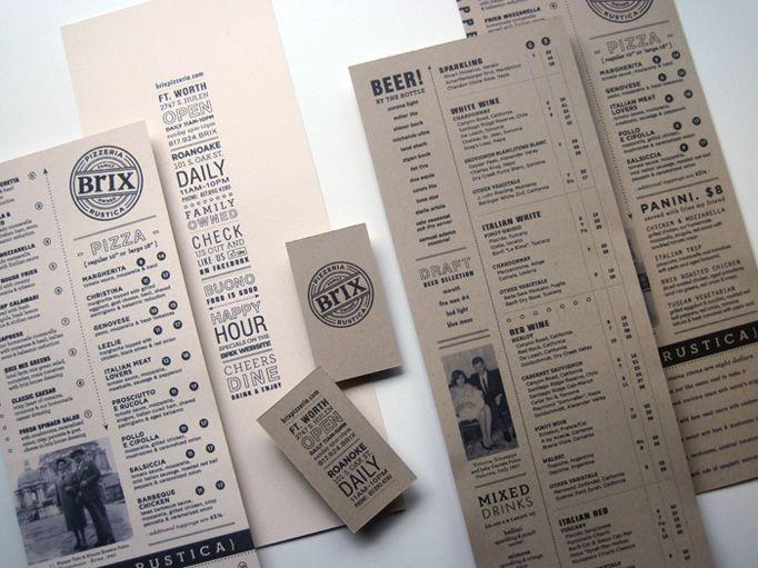 50 besten Barkarten Bilder auf Pinterest  Restaurant branding Die karte und Grafik design