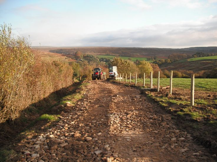 Surface and drainage improvements to the bridleway at Hazel Head, Goathland are nearly complete. We just need to add the surface layer and grass seed mix then everyone can enjoy the speculator views without getting stuck in the mud!