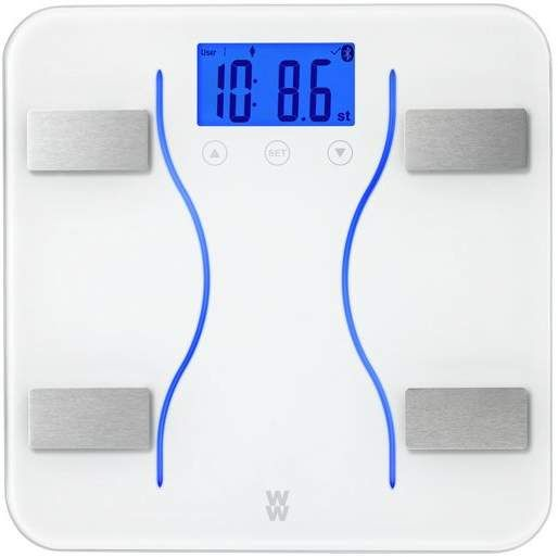 Weight Watchers Bluetooth Digital Body Analyser Scale. Over 50 yrs Weight Watchers have helped millions of people change their relationship with food, for good. These Bluetooth body analysis scales link with our free scales app to track your weight, BMI, body fat %, body water %, bone mass % and muscle mass % over time, allowing you to set goals and earn badges for extra encouragement. {affiliate link} #weightwatchers #scales #wwscales