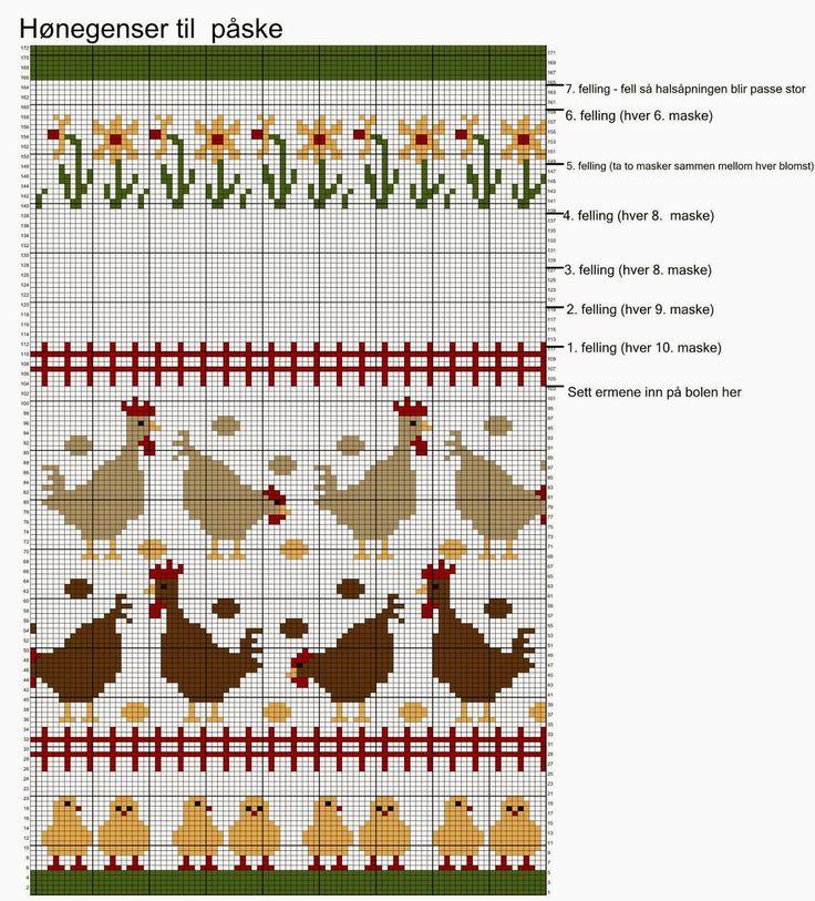 Christmas Fair Isle Train Chart Jerusalem House