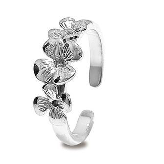 Buy our Australian made Sterling Silver Frangipani Toe Ring - BEE-35274 online. Explore our range of custom made chain jewellery, rings, pendants, earrings and charms.