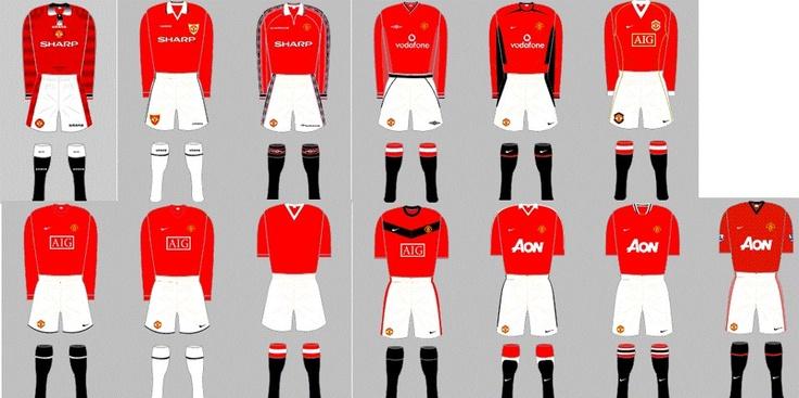 All recent #MUFC shirts
