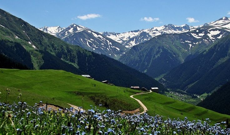 beautiful mountain - Ikizdere, Rize, Turkey.