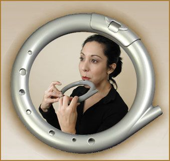 RingFlute, Ring Flute, circular musical flute musical instrument