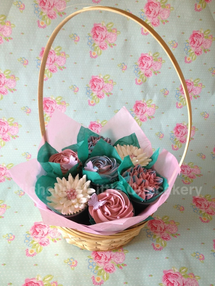 10 best gift baskets images on cupcake gift baskets