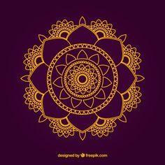 Projeto Mandala Vetor grátis