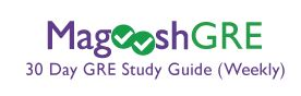 Magoosh GRE  30 Day GRE Study Guide  Weekly Schedule    Google Docs