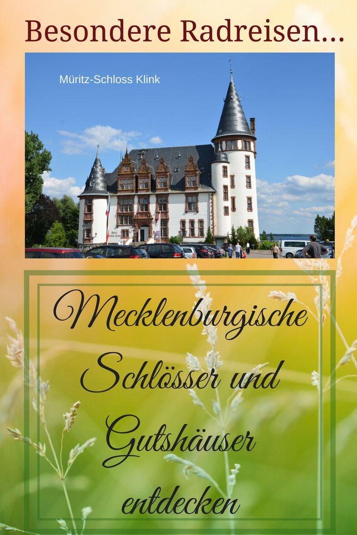 Ein besonderer Urlaub ist eine Radrundfahrt zu Schlössern und Gutshäusern in der Mecklenburgischen Seenplatte und der Mecklenburgischen Schweiz. #Reisetipp #Urlaub #Deutschland #Outdoor #mecklenburg #seenplatte