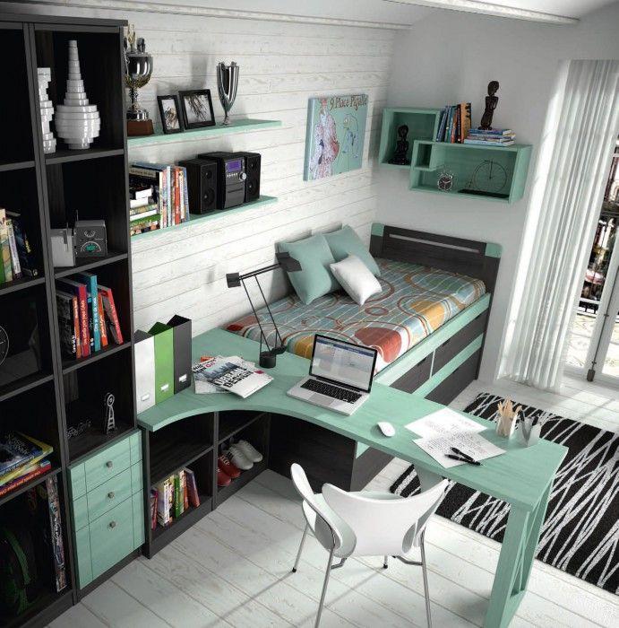 Планировка детской в маленькой комнате