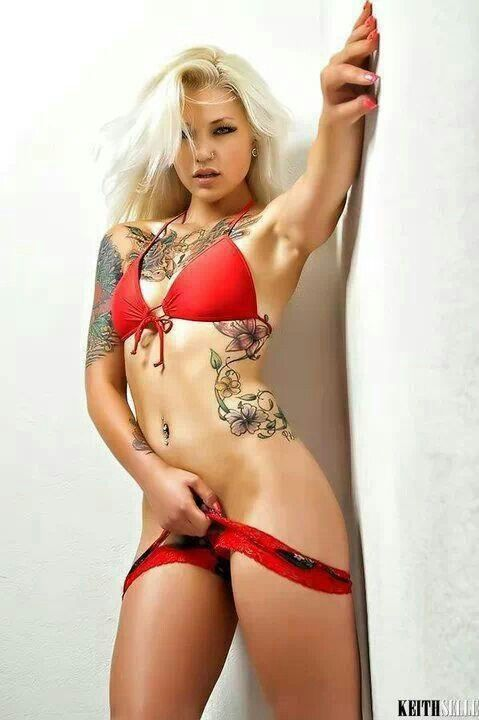 from Douglas nude sexy girls covered in tattoos