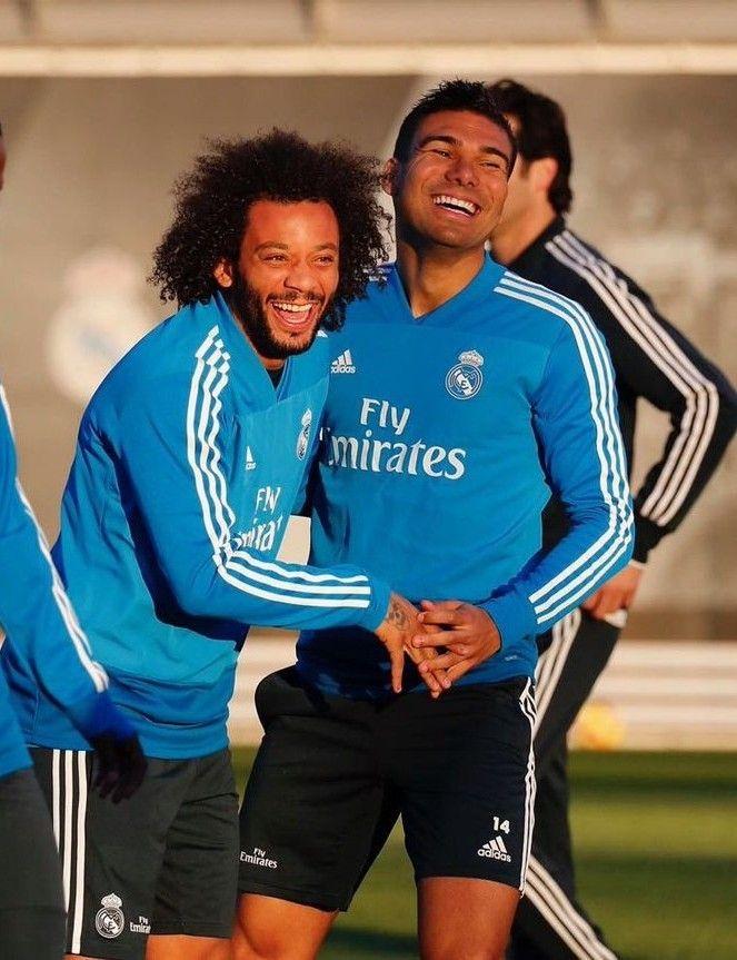 fb98106cb0e CASEMIRO-MARCELO!!...training session | RMAvsVillarreal | LaLiga 2018-19 | REAL  MADRID❤ #Madridistaaa | Adidas jacket, Adidas, Jackets
