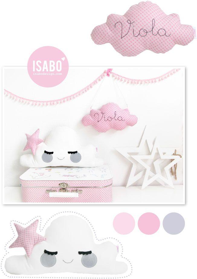 isabo, handmade, cloud cushion, cuscino nuvola