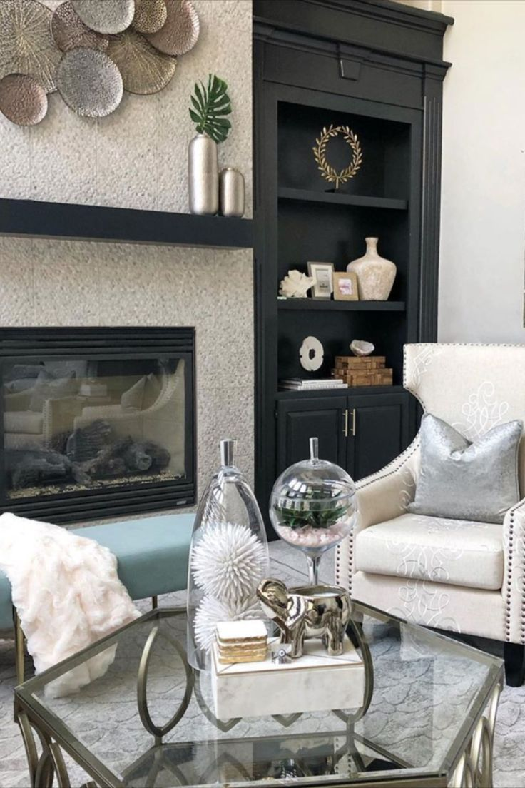 Silver Elephant Candle In 2020 Coffee Table Living Room Modern Farmhouse Living Room Furniture Luxury Coffee Table #silver #accessories #for #living #room