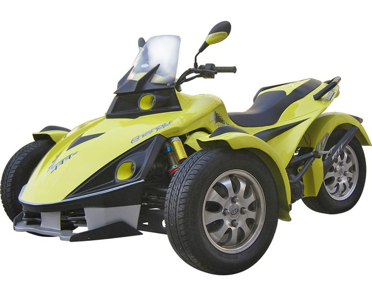 three wheel motorbikes for adults | Wild New Three Wheeled Motorcycle (Wizbang Blue)