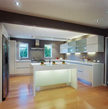 Kitchen modern classic - modern - Kitchen - Los Angeles - Mal Corboy Design and Cabinets