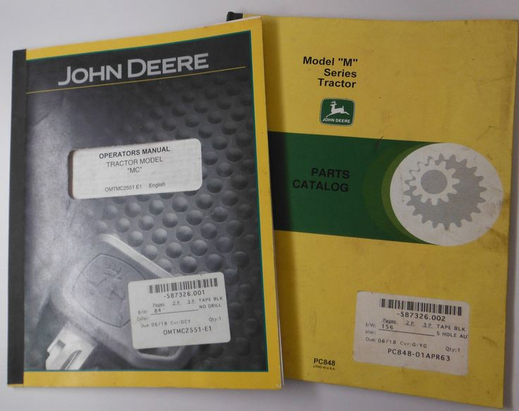 John Deere 7200 Tractor Owners Manual