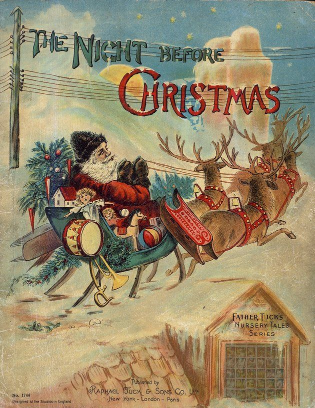 The Night Before Christmas - free eBook from University of Florida Baldwin Library of Historical Children's Literature