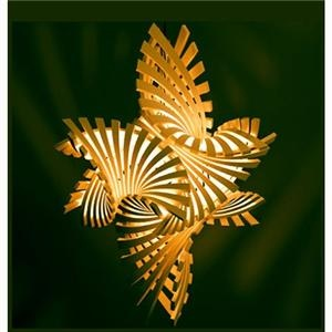 Flame.mgx lamp by Bathsheba Grossman for Materialise