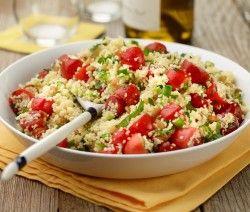 Maak deze Marokkaanse couscoussalade eens! Hij is hartstikke gezond én lekker.