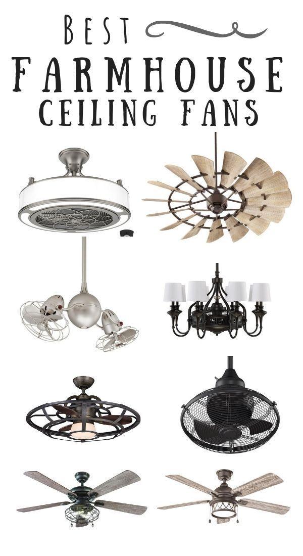 Narrow Down The Perfect Farmhouse Ceiling Fan Farmhouse Ceiling Fan Industrial Farmhouse Lighting Ceiling Fan In Kitchen