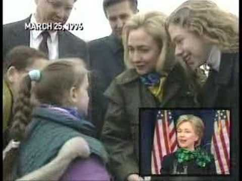 CBS Exposes Hillary Clinton Bosnia Trip. Watch this and please think twice in 2016 Do you really trust this woman?