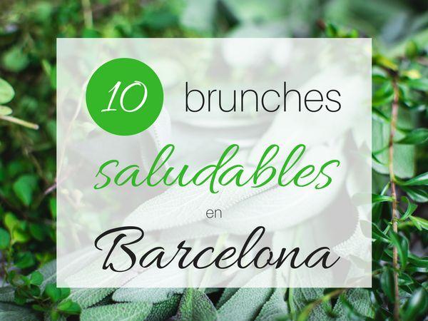 Si te encanta el brunch pero también te gusta comer saludable, aquí tienes una lista de 10 lugares de brunch saludable en Barcelona.