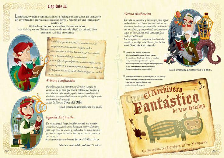 Archivero Monstruoso. Cuentos de misterio relacionados a los viajes de Van Helsing.