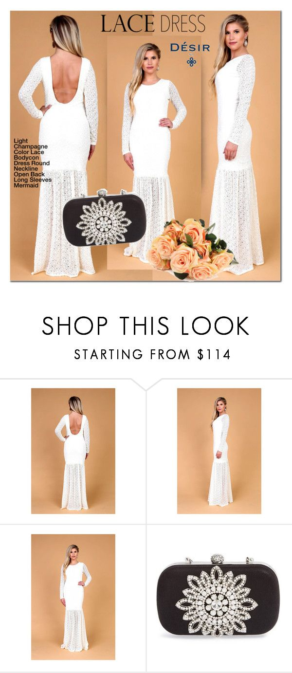 Lace Bodycon Desir Vale Dress by mada-malureanu on Polyvore featuring Natasha