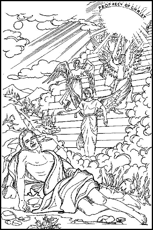jacobs dreams coloring pages - photo#14