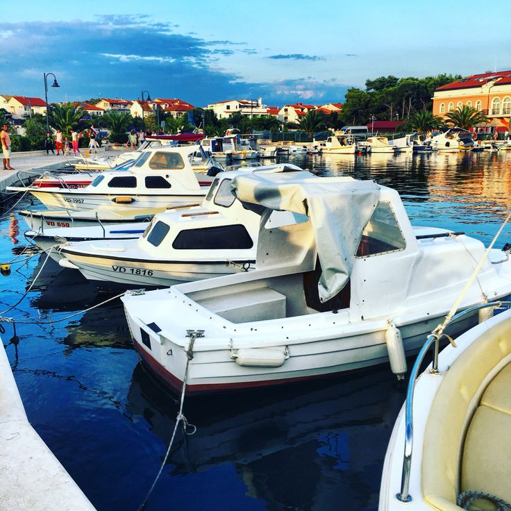 I just love this picture from Tribunj, Croatia! Boats! Boats! Boats! 🛥🛥🛥