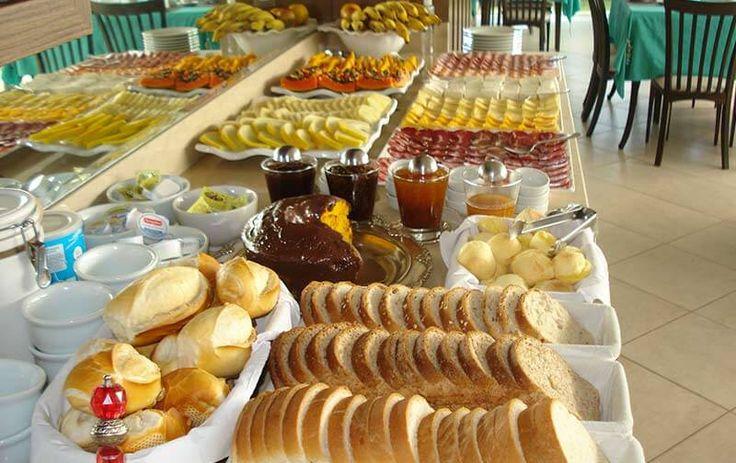 Café da manhã - Pousada dos Chás - Jurerê - Florianópolis