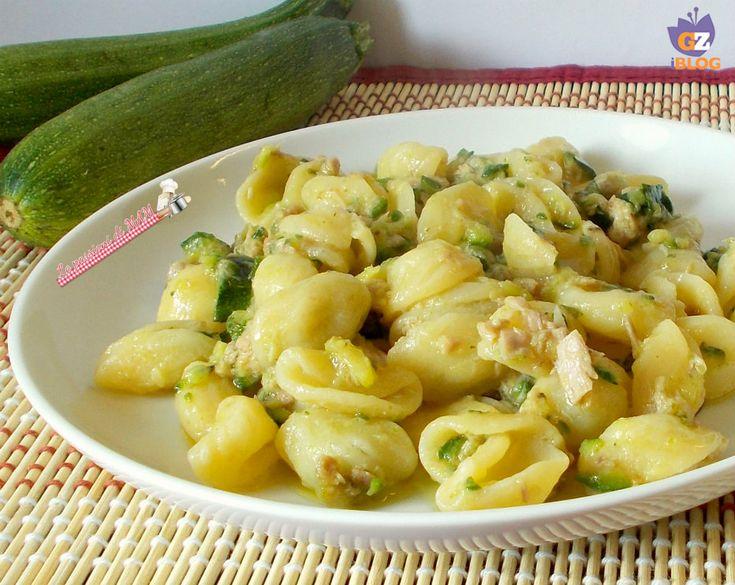 Pasta zucchina e tonno | Le passioni di MAM