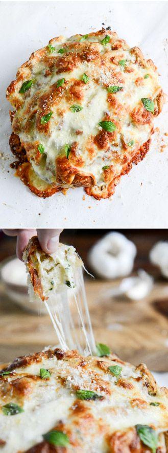 White Pizza Pull Apart Bread. Tastes just like it! I howsweeteats.com